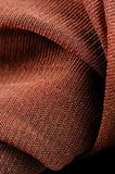 Brown Synthetic Fabric Texture Close-Up Stock Photography
