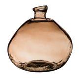 Brown szklana butelka Obraz Royalty Free
