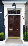 Brown-Tür Stockbild