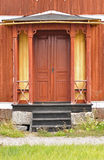 Brown-Türen Lizenzfreie Stockfotografie