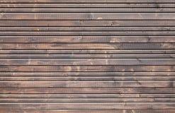 Brown tła drewniana ścienna tekstura Fotografia Stock