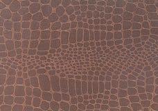 brown tła skórzana konsystencja Zbliżenie fotografia Zdjęcie Royalty Free