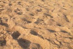 Brown tło, naturalny piaska wzoru zbliżenie zdjęcia stock