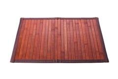 Brown table mat Royalty Free Stock Photos