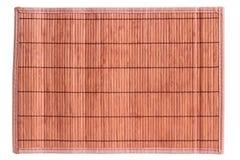 Brown table rug Stock Photography