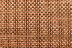 Brown tablecloth background texture pattern Royalty Free Stock Image