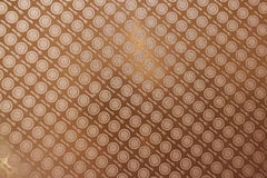 Brown tablecloth texture Royalty Free Stock Image