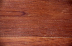 Brown teak wood textured. Royalty Free Stock Photos