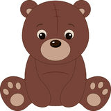 Brown teddy bear Royalty Free Stock Photography