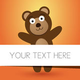 Brown Teddy Bear Image stock