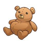 Brown Teddy Bear Fotos de Stock Royalty Free