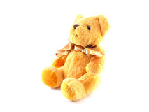 Brown teddy bear Stock Photography