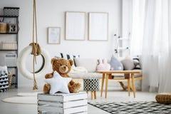 Brown teddy bear Stock Image