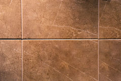 brown tegelplattor royaltyfri foto