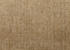 Brown tekstura naturalny worek jako tło Fotografia Royalty Free