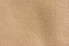 Brown tekstury brezentowy tło Obrazy Royalty Free