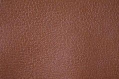 Brown tekstury tło od lather portfla Zdjęcie Stock