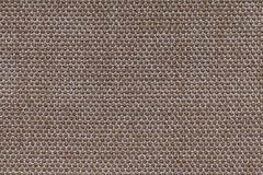 Brown textile background with checkered pattern, closeup. Structure of the fabric macro. Royalty Free Stock Photography