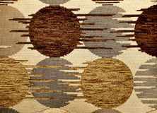 Brown textile flax fabric. Wickerwork for texture background Royalty Free Stock Photo