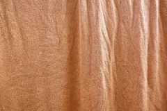 Brown textile texture. Close up brown textile texture Royalty Free Stock Images