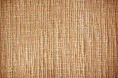 Brown textile woven texture background Royalty Free Stock Images