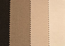 Brown textiles Stock Photos