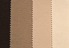 Brown textiles Stock Photos