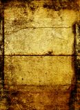 Brown texture background. An abstract brownish texture background with enhanced grunge atmosphere Royalty Free Stock Image