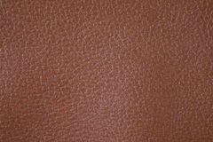 Brown texture background from lather wallet. Stock Photo
