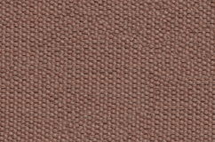 Brown texture canvas Royalty Free Stock Images