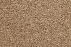 Brown texture of fleecy fabric Royalty Free Stock Images