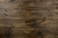 Brown texture of old wood with knots Royalty Free Stock Photo