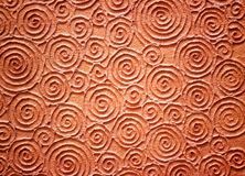 Brown texture shape spiral paper for background Stock Photo