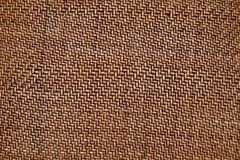 Brown texture of small weaving of withe stock photo