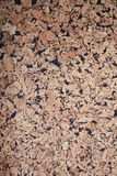 Brown textured cork board background stock images