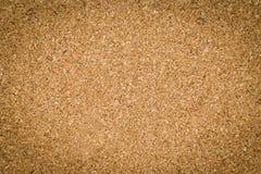 Brown textured cork board Stock Photos