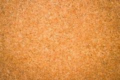 Brown textured a cortiça clara - close up Fotografia de Stock Royalty Free