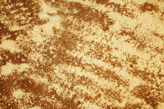 Brown textured cowhide Royalty Free Stock Images