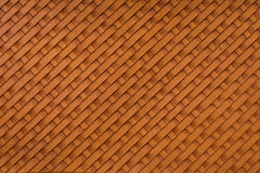 Brown textured leather background Stock Images