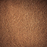 Brown textured leather skin grunge background closeup Stock Photo