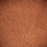 Brown textured leather skin grunge background closeup Royalty Free Stock Photo