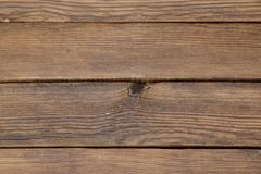 Brown Textured Old Wood Slats Panel Background Royalty Free Stock Image