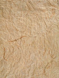 Brown textured paper Royalty Free Stock Image