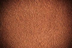 Brown textured rzemiennego skóry grunge tła zbliżenie Fotografia Stock