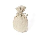 Brown textured sack. Stock Image