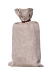 Brown textured sack Stock Image