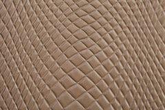 Brown textured skóry teksturę Fotografia Stock