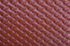 Brown textured skóry teksturę Zdjęcie Royalty Free