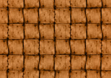 Brown textured squares. Illustration Stock Photo