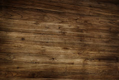 Brown Textured Varnished Wooden Floor Stock Images